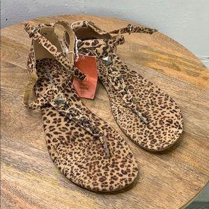 MOSSIMO SUPLY CO. - Cheetah Print Sandals